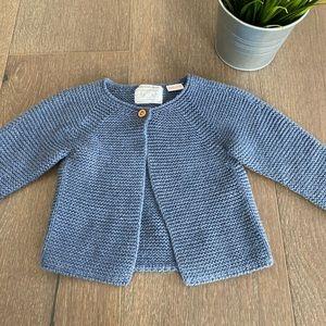 Zara sweater 6-9 mos